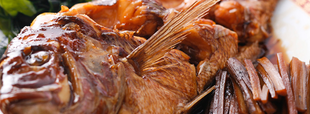 板さんの鯛のすがた煮